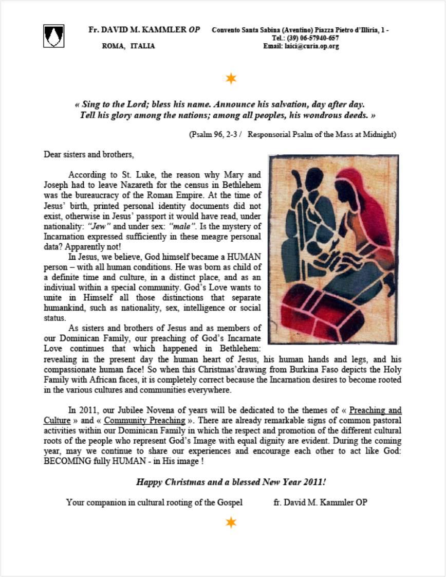 Kammler Letter