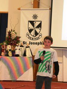 Head boy from St Joseph's