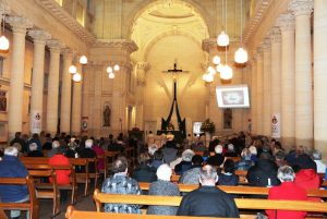 Mass in the basilica